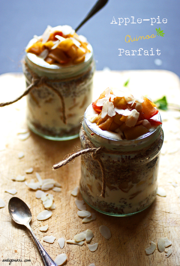 Apple-Pie Quinoa Parfait - Antigone XXI