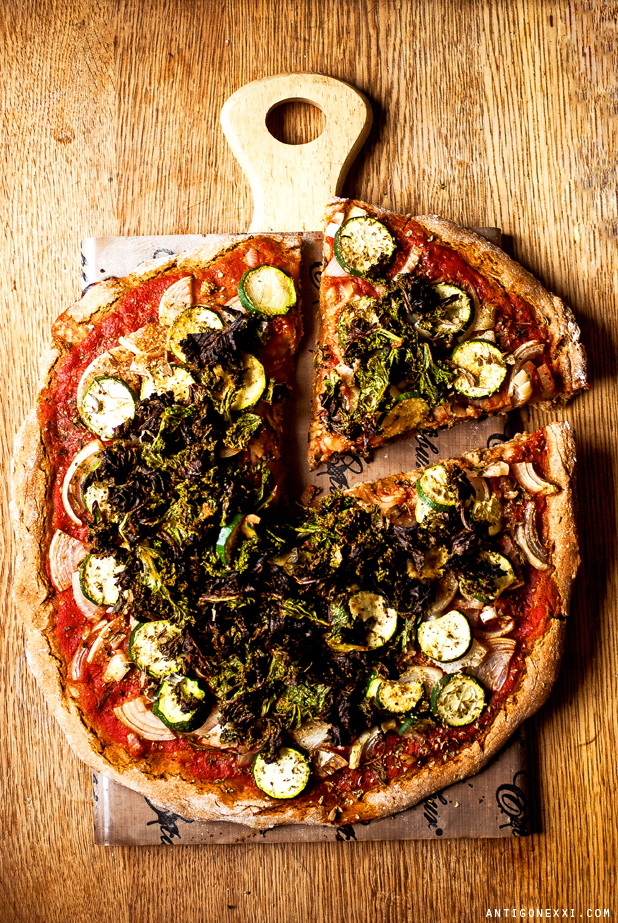 Pizza Végane - Antigone XXI