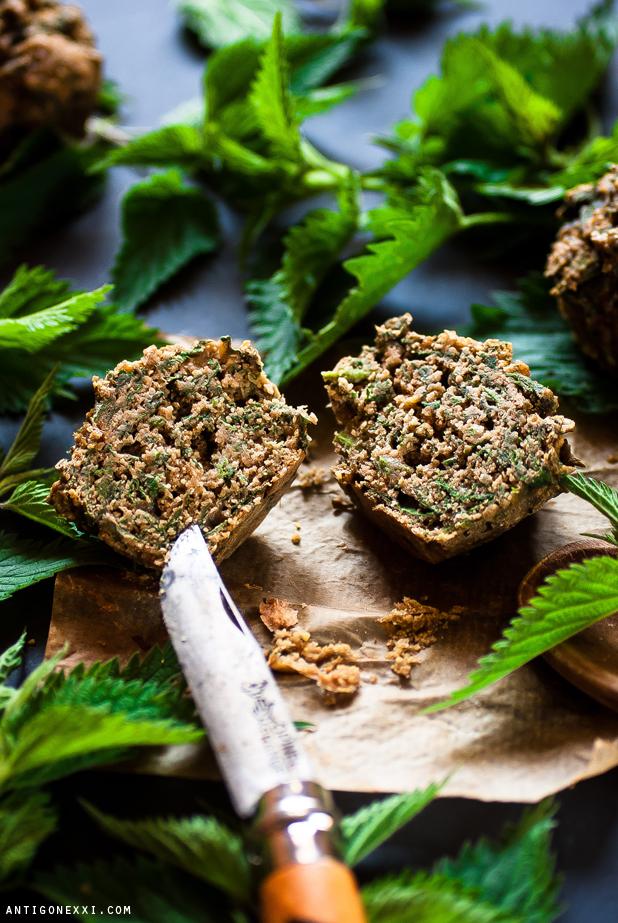 Mini-Cakes & Muffins à l'Ortie (vegan)