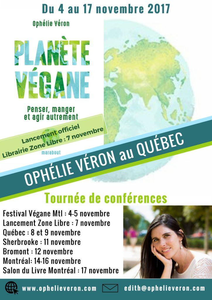 Bientôt en tournée au Québec !