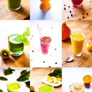 Smoothies en folie !