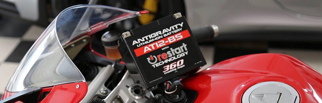AT12BS ReStart Lightweight Lithium Battery