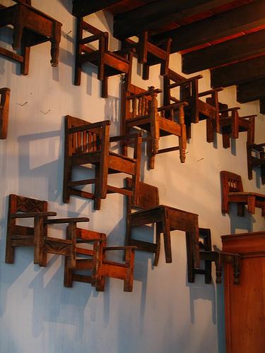Hanging Chairs in La Antigua Guatemala