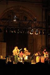 Quinteto de Jazzuv in Antigua Guatemala's Jazz Festival 2
