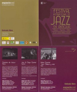 Festival Internacional de Jazz en Antigua Guatemala 2009