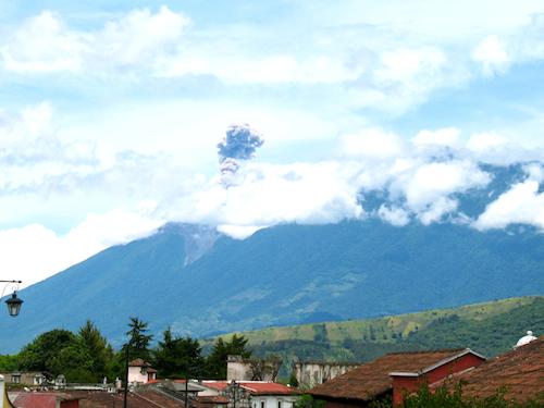 Volcán de Fuego Welcomes You