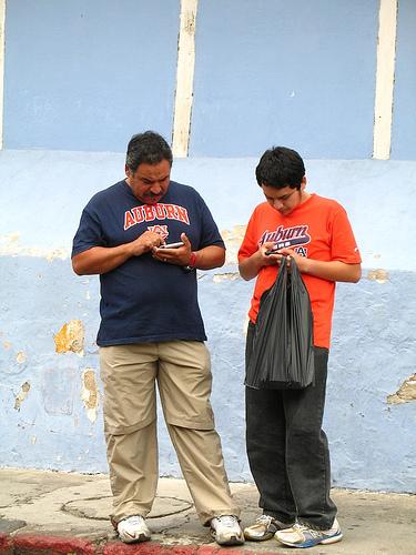 iPhone Twitter Updates from Antigua Guatemala