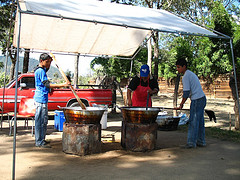 Making Chicharrones and Carnitas,