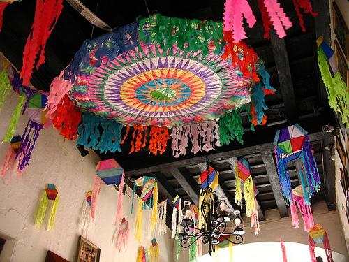 Guatemalan Kite Decorations