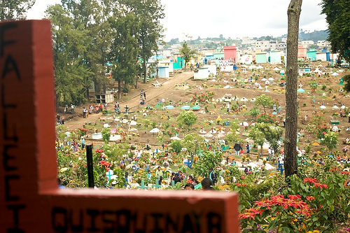 Sumpango's Cemetery for All Saints' Day