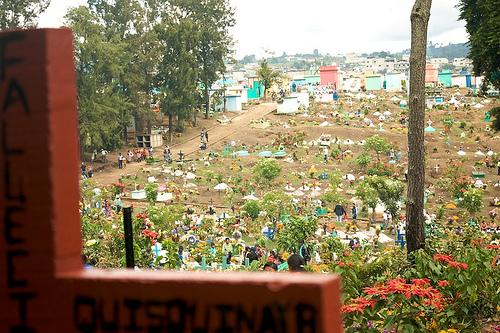 Sumpango's Cemetery for All Saints' Day