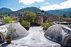 Mesón Panza Verde terrace