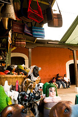 Mercado de San Felipe: Ceramic Animals and Figures