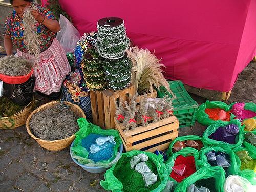 Christmas Shopping in Antigua Guatemala