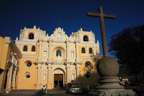 Front View of Iglesia de La Merced