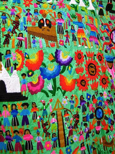Colorful Guatemalan Textiles