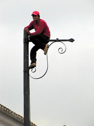 Daredevil in Antigua Guatemala