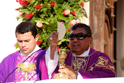 Eucharistic celebration on Our Lady of Guadalupe Day by Rudy Girón