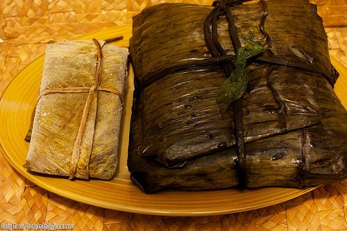 Giant Guatemalan Tamal