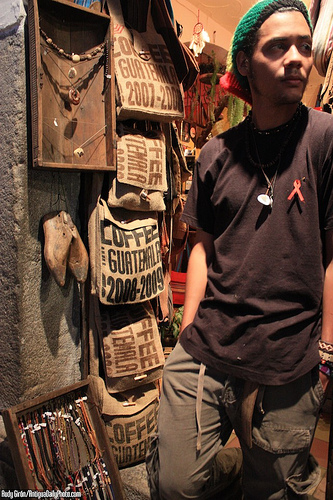Guatemalan Coffee-sacks-style Satchels by Rudy Girón