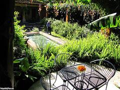 Garden Dining at Epicure by  Rudy Girón