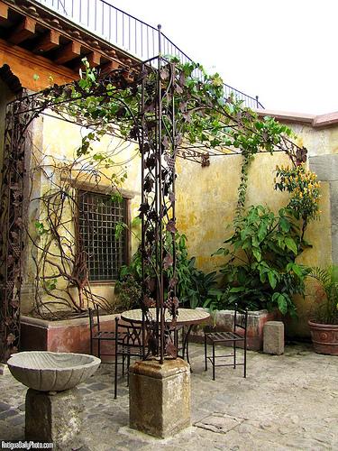 Antigua Style Patio Dining Area by Rudy Girón