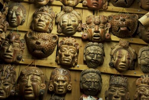 Masks by Arturo Godoy