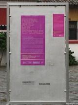 Festival Artes Especiales Poster by Rudy Girón