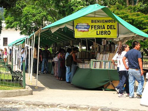 Book Fair at Main Plaza by Rudy Girón