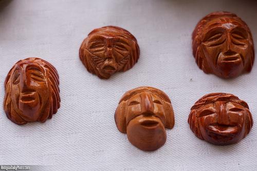 Avocado Seed Mask by Rudy Girón