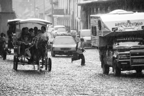 One of many rainy days in Antigua Guatemala by Arturo Godoy