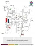Map of different events of Subida por la vida
