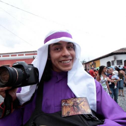 Vistas of Palm Sunday in Antigua Guatemala by Leonel -Nelo- Mijangos