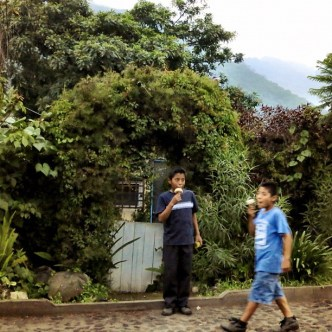 It's Always Ice Cream time In Guatemala by Rudy Giron