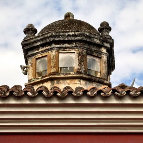 Typical Antigua Guatemala Roof-top Details by Rudy Giron