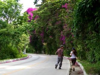 Jogging Around Antigua Guatemala by Rudy Girón