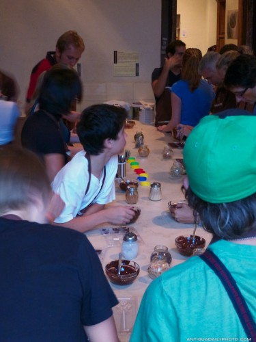 Making Chocolates in Antigua Guatemala by Rudy Giron