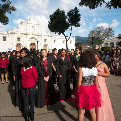 Fashion and Design show in Antigua Guatemala by Rudy Giron