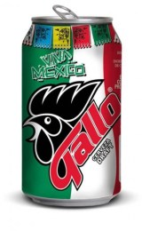 Mexican Gallo Beer Can