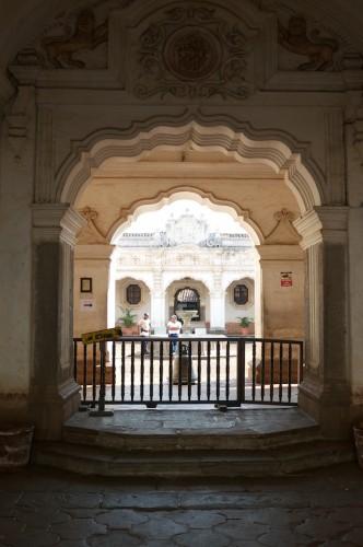 Guatemalan Baroque Entrance by Rudy Giron - www.rudygiron.com
