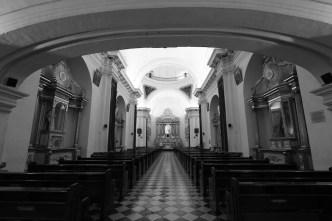 Inside View of the Escuela De Cristo Churchby Rudy Giron - www.rudygiron.com