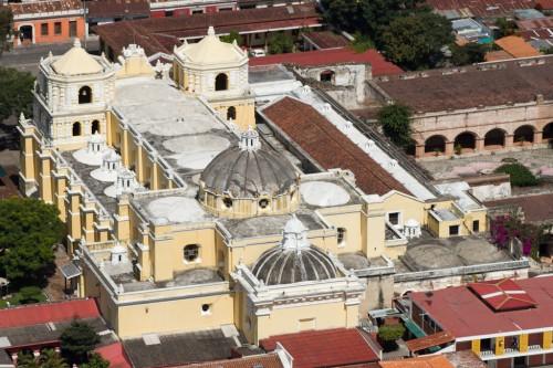 Aerial View of Iglesia de la Merced by Nelo Mijangos