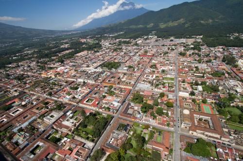 Aerial Views of Antigua Guatemala Series by Nelo Mijangos