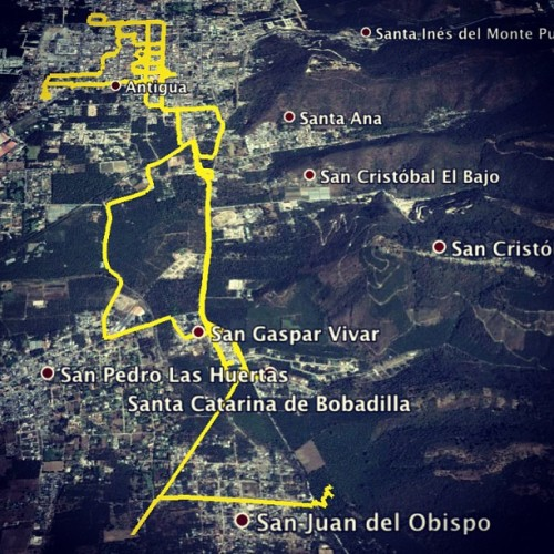 Lent Sunday Processions: 28.4kms of the 1st Santa Catarina Bobadilla by Nelo Mijangos