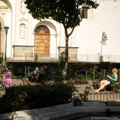 Rudy Giron: Instagrams &emdash; Sunbathing during the Rainy Season in Antigua Guatemala
