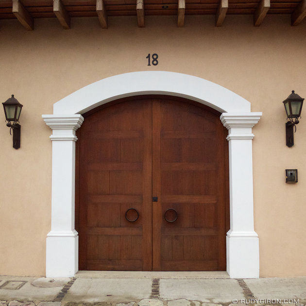 Rudy Giron: Instagrams &emdash; Luxurious Doorway from Antigua Guatemala