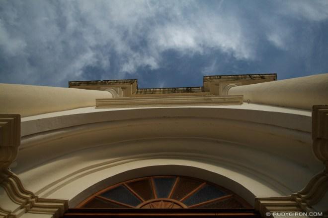 Rudy Giron: AntiguaDailyPhoto.com &emdash; Arch at Antigua Guatemala Cathedral