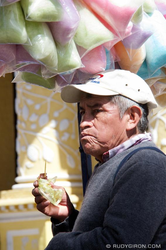 Rudy Giron: AntiguaDailyPhoto.com &emdash; Cotton Candy Vendor