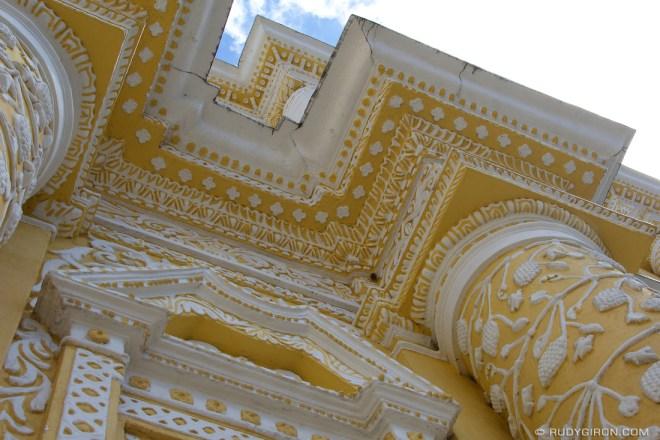 Rudy Giron: AntiguaDailyPhoto.com &emdash; Baroque Stucco Art