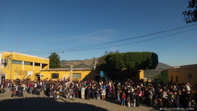 Rudy Giron: AntiguaDailyPhoto.com &emdash; First Day of Classes in Guatemala